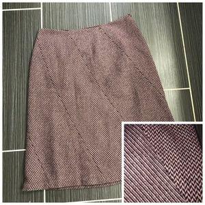 Jones Wear Wool Blend Skirt Size 12